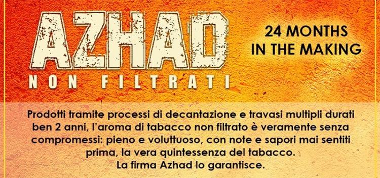 """Azhad """"NON FILTRATI"""""""